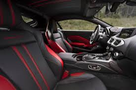 aston martin cars interior all new aston martin vantage debuts with twin turbo v8