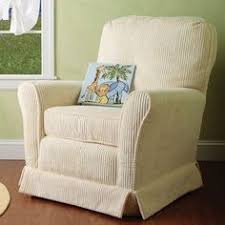 valetti silver with slate piping cottage glider recliner nursery