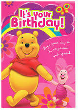 winnie the pooh adults birthday cards and stationary ebay