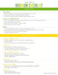 home design checklist declutter bedroom checklist decor modern on cool gallery with