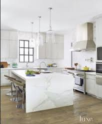 kitchen island marble 7 sleek waterfall kitchen island counters countertop marbles