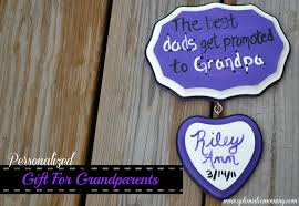 great personalized gift for grandparents optimistic