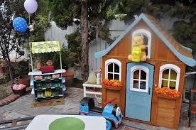 backyard theme park grandpa builds disneyland inspired backyard theme park for his