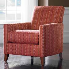 fancy red patterned accent chair for home design ideas with