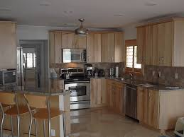 Rustic Kitchen Cabinets Ideas by Amazing Of Birch Kitchen Cabinets Related To Home Remodel Ideas