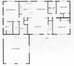 open floor plans houses 3 bedroom open floor plan homes savae org