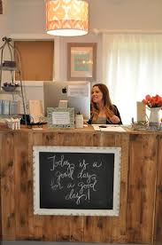 Home Hair Salon Decorating Ideas Bench Waiting Area I Love This I U0027m Not Sure It U0027s Practical