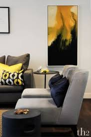 Gray And Yellow Living Room by 33 Modern Living Room Design Ideas Summer Living Rooms And Room