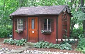 How To Build A Garden Shed by Charming Garden Sheds From Rustic To Modern Empress Of Dirt