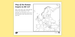of the roman empire map worksheet romans roman empire
