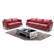 leather couch set divani casa 949 modern italian leather sofa set products