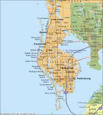 map of county map of pinellas county