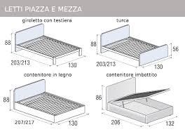 materasso piazza e mezza misure letto a una piazza e mezza dimensioni comorg net for