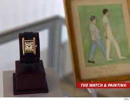 kim kardashian west scores jackie kennedy watch at auction tmz com