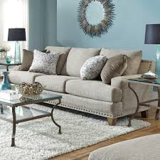 Couch Angled View Franklin Hobbs Sofa Great American Home Store Sofas