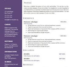 prissy design resume template doc 1 free creative cv 547 to 553