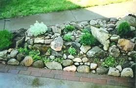 Small Rock Garden Design Ideas River Rock Garden Ideas Financeintl Club