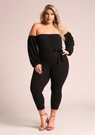 plus size black jumpsuit plus size clothing deb shops