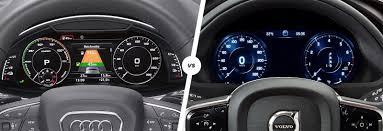 lexus vs audi q7 audi q7 e tron vs volvo xc90 t8 hybrid comparison carwow