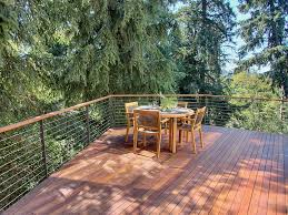 cantilevered deck lakeside decks deck contemporary with cantilever standard height