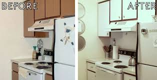 how to update rental kitchen cabinets apartment kitchen makeover the decor guru