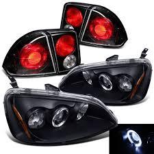 2001 honda civic tail lights amazon com rxmotoring 2002 honda civic headlights projector tail