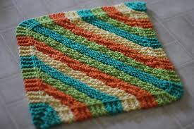 knitted dishcloth patterns a knitting