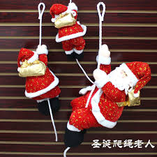 Christmas Decorations Large Santa Claus by Online Get Cheap Large Hanging Christmas Ornaments Aliexpress Com