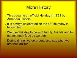 thanksgiving día de acción de gracias history la historia in the