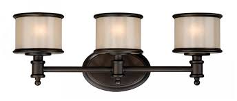 Bronze Light Fixtures Bathroom Vaxcel Usa Crvlu003nb Carlisle 3 Light Bathroom Vanity Lighting