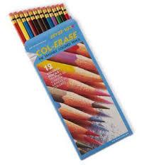 prismacolor scholar colored pencils prismacolor col erase pencils assorted colors box of 12 by office