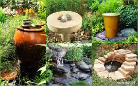 garden water fountain ideas home outdoor decoration