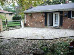 laying a paver patio patio ideas manificent design building a paver patio magnificent