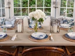 Dining Room Flower Arrangements - coastal dining room sets centerpieces decoration ideas decorating
