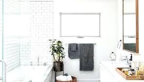 all white bathroom ideas white bathroom ideas country 3 4 white tile and subway tile mosaic