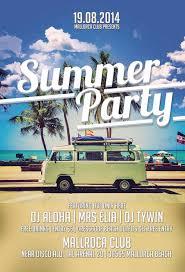 summer party flyer template download freebie summer psd flyer