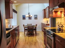 Galley Style Kitchen Designs - fresh galley kitchen remodel remove wall 12324