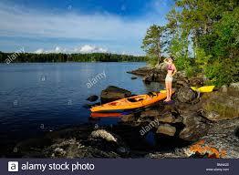 Minnesota national parks images Kayaking lakes ash river area voyageur national park minnesota usa jpg