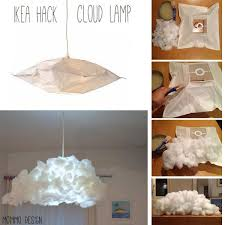 how to make a cloud light cloud lshade from ikea varmluft to make pinterest cloud