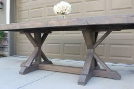 Farm Table Pictures by Farmhouse Table Build Frills U0026 Drills