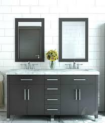 Double Bathroom Sink Cabinets Double Bathroom Vanities Bathgems Com