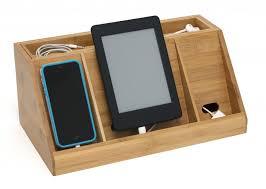 nightstand astonishing nightstand with charging station bamboo
