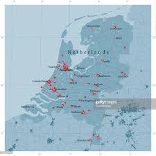 Map Netherlands Netherlands Vector Map Regions Isolated Vector Art Getty Images