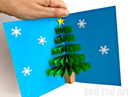 make christmas cards pop up christmas cards to make easy tutorial