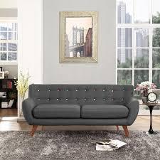 modern grey sofa with window wall living room modern and chrome
