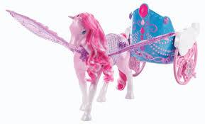 barbie mariposa fairy princess pegasus u0026 flying chariot