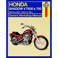 manual haynes for 1992 honda vt 600 cn shadow vlx ebay