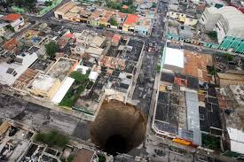 Sinkholes In Florida Map by Sinkhole In Guatemala Giant Could Get Even Bigger