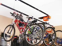 Bicycle Ceiling Hoist by Ceiling Bike Rack For Garage How To Build Bike Rack For Garage