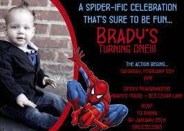 printable spiderman birthday invitations cards ideas saflly